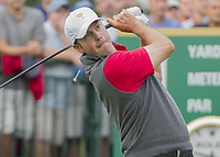 Golf<br /> Foto: imago/Digitalsport<br /> NORWAY ONLY<br /> <br /> 05 October 2013: Matt Kuchar of the United States Team tees off during day three of The Presidents Cup at Muirfield Village GC in Dublin, Ohio