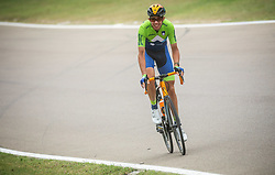 NOVAK Domen of Slovenia competes during Men Elite Road Race at UCI Road World Championship 2020, on September 27, 2020 in Imola, Italy. Photo by Vid Ponikvar / Sportida