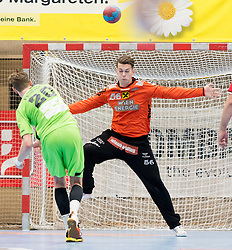 15.10.2016, Halle Hollgasse, Wien, AUT, HLA, SG INSIGNIS Handball WESTWIEN vs HC Fivers WAT Margareten, Grunddurchgang, 8. Runde, im Bild Kristian Pilipovic (Fivers) // during Handball League Austria, 8 th round match between HC Fivers WAT Margareten and SG INSIGNIS Handball WESTWIEN at the Halle Hollgasse, Vienna, Austria on 2016/10/15, EXPA Pictures © 2016, PhotoCredit: EXPA/ Sebastian Pucher