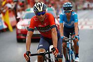 Vincenzo Nibali (ITA - Bahrain - Merida), during the UCI World Tour, Tour of Spain (Vuelta) 2018, Stage 3, Mijas - Alhaurin de la Torre 178,2 km in Spain, on August 27th, 2018 - Photo Luca Bettini / BettiniPhoto / ProSportsImages / DPPI