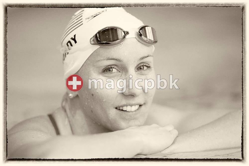 Jessica HARDY of United States of America (USA) poses for a photo during the International Swim Meet Uster 2015 in Uster, Switzerland, Saturday, Jan. 24, 2015. (Photo by Patrick B. Kraemer / MAGICPBK)