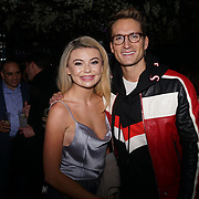 Georgia 'Toff' Toffolo and Oliver Proudlock attend to support Hornï Underwear for London Launch Party to support global rhino conservation fundraising on 8 Feb 2018 at Cuckoo Club in London, UK.