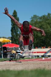 WHITEHEAD Ahkeel, USA, Long Jump, F37/38, 2013 IPC Athletics World Championships, Lyon, France