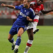 NLD/Amsterdam/20080808 - LG Tournament 2008 Amsterdam, Ajax v Arsenal, Gabri in duel met William Gallas