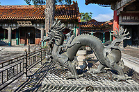 dragon statue  Forbidden City of Beijing China