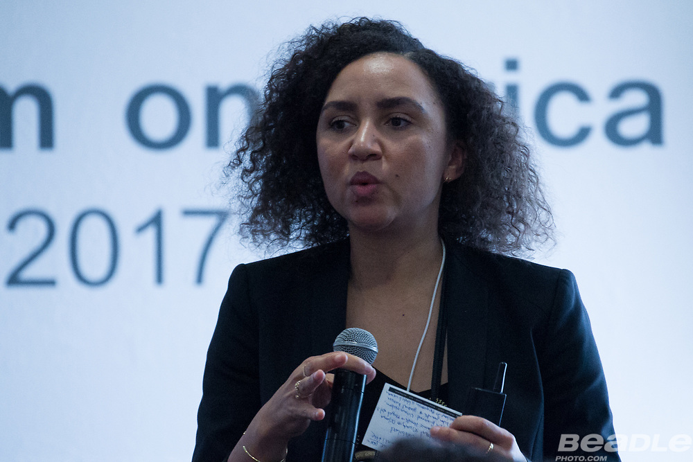 at the World Economic Forum on Africa 2017 in Durban, South Africa. Copyright by World Economic Forum / Greg Beadle