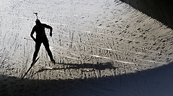 13.12.2014, Biathlonarena, Hochfilzen, AUT, E. ON IBU Weltcup, Staffel, Damen, im Bild Irene Cadurisch (SUI) // during Womens Relay of E. ON IBU Biathlon World Cup at the Biathlonstadium in Hochfilzen, Austria on 2014/12/13. EXPA Pictures © 2014, PhotoCredit: EXPA/ JFK