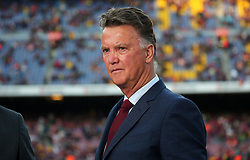 May 6, 2018 - Barcelona, Catalonia, Spain - Louis Van Gaal before the match between FC Barcelona and Real Madrid CF, played at the Camp Nou Stadium on 06th May 2018 in Barcelona, Spain.  Photo: Joan Valls/Urbanandsport /NurPhoto. (Credit Image: © Joan Valls/NurPhoto via ZUMA Press)