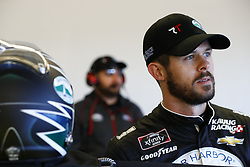 March 2, 2018 - Las Vegas, Nevada, United States of America - March 02, 2018 - Las Vegas, Nevada, USA: Ryan Truex (11)  hangs out in the garage during practice for the Boyd Gaming 300 at Las Vegas Motor Speedway in Las Vegas, Nevada. (Credit Image: © Justin R. Noe Asp Inc/ASP via ZUMA Wire)