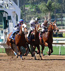 March 30, 2018 - Arcadia, California, USA - Horse Racing -    at Santa Anita Race Track, Arcadia, California, USA, March 29, 2018...Credit Image  cr  Scott Mitchell/ZUMA Press (Credit Image: © Scott Mitchell via ZUMA Wire)