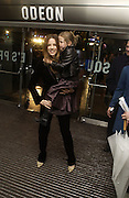 Kate Beckinsdale and daughter  Lily Sheen. World premiere of Harry Potter and the Goblet of Fire. Odeon Leicester Sq and afterwards at then Natural History Museum. London. 6 November 2005.  2005. ONE TIME USE ONLY - DO NOT ARCHIVE © Copyright Photograph by Dafydd Jones 66 Stockwell Park Rd. London SW9 0DA Tel 020 7733 0108 www.dafjones.com