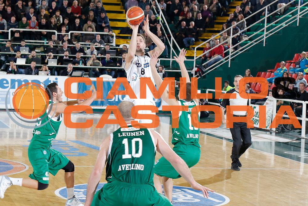 DESCRIZIONE : Avellino Lega A 2015-16 Sidigas Avellino Dolomiti Energia Trentino Trento<br /> GIOCATORE : Filippo Baldi Rossi<br /> CATEGORIA : tiro tre punti <br /> SQUADRA : Dolomiti Energia Trentino Trento<br /> EVENTO : Campionato Lega A 2015-2016 <br /> GARA : Sidigas Avellino Dolomiti Energia Trentino Trento<br /> DATA : 01/11/2015<br /> SPORT : Pallacanestro <br /> AUTORE : Agenzia Ciamillo-Castoria/A. De Lise <br /> Galleria : Lega Basket A 2015-2016 <br /> Fotonotizia : Avellino Lega A 2015-16 Sidigas Avellino Dolomiti Energia Trentino Trento