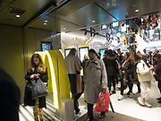 MCDONALDS, Oxford St. 1 December 2018