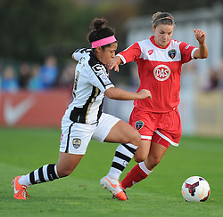 Bristol Academy Womens' Loren Dykes - Photo mandatory by-line: Alex James/JMP - Mobile: 07966 386802 - 04/10/2014 - SPORT - Football - Bristol - Stoke Gifford Stadium - Bristol Academy Womens v Notts County Ladies - Womens Super League