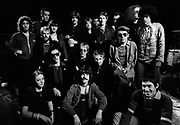 Ian Dury Stiff Tour 1978  group photograph