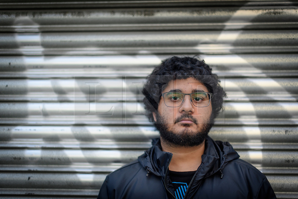 © London News Pictures. 12/10/2016. London, UK. Gay activist Sohail Ahmed, who turned his back on the extreme islamic movement Salafi. Sohail, who was raised in a hardline Islamist household, struggled throughout his youth with doubt about Islam, which conflicted with his sexuality. Photo credit: Ben Cawthra/LNP