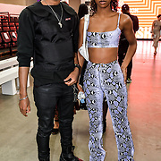 Fashion L'amour - Magazine and Lala Roswess Jordan Onyeka Attendees at the Graduate Fashion Week 2019 - Day Three, on 2 June 2019, Old Truman Brewery, London, UK.