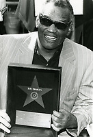1981 Ray Charles' Walk of Fame ceremony