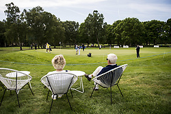 June 2, 2017 - BarsebäCk, Sverige - 170602 Publik följer dag tvÃ¥ av golftävlingen Nordea Masters den 2 juni 2017 i Barsebäck  (Credit Image: © Petter Arvidson/Bildbyran via ZUMA Wire)
