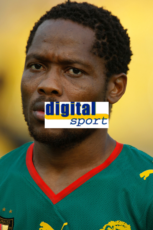 Photo: Steve Bond/Richard Lane Photography.<br /> Egypt v Cameroun. Africa Cup of Nations. 22/01/2008. Jean Makoun of Cameroon and Lille