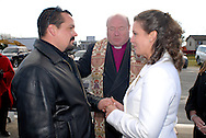 12/7/09 - 11:27:20 AM - FORTESCUE, NJ: Diana & Ken - December 7, 2009 - Fortescue, New Jersey. (Photo by William Thomas Cain/cainimages.com)