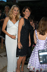Left to right, JEMIMA FRENCH and SADIE FROST at the Tatler Summer Party in association with Moschino at Home House, 20 Portman Square, London W1 on 29th June 2005.<br /><br />NON EXCLUSIVE - WORLD RIGHTS