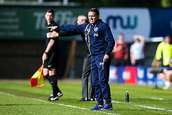 Shrewsbury Town manager Paul Hurst - Mandatory by-line: Robbie Stephenson/JMP - 13/05/2018 - FOOTBALL - Montgomery Waters Meadow - Shrewsbury, England - Shrewsbury Town v Charlton Athletic - Sky Bet League One Play-Off Semi Final