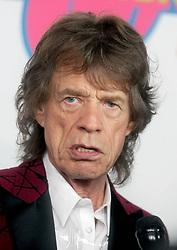 Mick Jagger at The Rolling Stones Exhibitionism Opening Night, New York, 15th November 2016