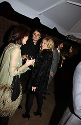 Left to right, LUCY BIRLEY, KATE MOSS and PETE DOHERTY at a party to celebrate the 90th birthday of Vogue magazine held at The Serpentine Gallery, Kensington Gardens, London on 8th November 2006.<br /><br />NON EXCLUSIVE - WORLD RIGHTS