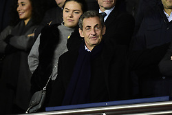 November 6, 2019, Paris, France, France: Jean Claude Blanc - Directeur General delegue du PSG / Nicolas Sarkozy (Credit Image: © Panoramic via ZUMA Press)