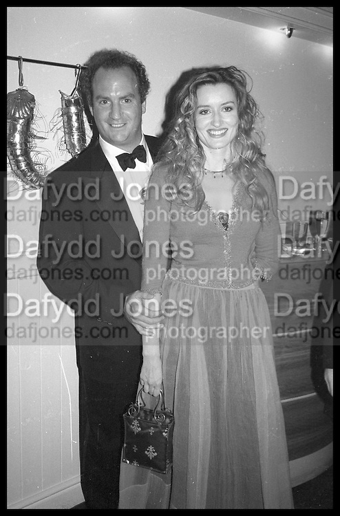 CHARLES FINCH; NATASCHA MCELHONE, Tatler Bafta party hosted by Jane Procter and Charles Finch. Lola's. Upper St. London. April 1999.