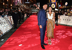 Will Smith and Naomie Harris attending the European premiere of Collateral Beauty, held at the Vue Leicester Square, London.