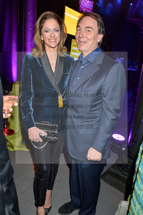 SIR ALAN & LADY PARKER he is chairman of Brunswick at A Night of Motown in aid of Save The Children UK held at The Roundhouse, Chalk Farm Road, London on 3rd March 2016.