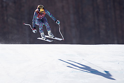 February 17, 2018 - Pyeongchang, South Korea - SABRINA SIMADER of Kenya in action during Alpine Skiing: Ladies' Super-G at Jeongseon Alpine Centre during the 2018 Pyeongchang Winter Olympic Games. (Credit Image: © Daniel A. Anderson via ZUMA Wire)