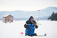 Meredith Rotary Ice Fishing Derby 2015