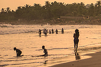 Early Evening at the Beach, Kokrobite
