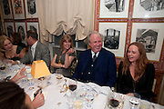 RACHEL JOHNSON; GRAYDON CARTER; STELLA MCCARTNEY, Graydon Carter hosts a diner for Tom Ford to celebrate the London premiere of ' A Single Man' Harry's Bar. South Audley St. London. 1 February 2010
