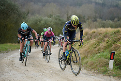 Gracie Elvin (Orica Scott) at Strade Bianche - Elite Women. A 127 km road race on March 4th 2017, starting and finishing in Siena, Italy. (Photo by Sean Robinson/Velofocus)