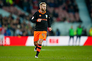 Sheffield Wednesday midfielder Barry Bannan (41)  during the The FA Cup match between Middlesbrough and Sheffield Wednesday at the Riverside Stadium, Middlesbrough, England on 8 January 2017. Photo by Simon Davies.