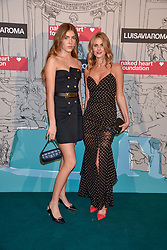 Freya Aspinall and her mother Donna Air at the Fabulous Fund Fair in aid of Natalia Vodianova's Naked Heart Foundation in association with Luisaviaroma held at The Round House, Camden, London England. 18 February 2019.