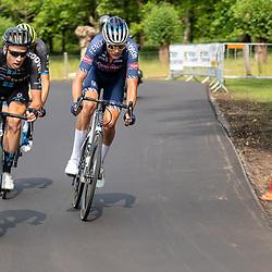 WIJSTER (NED) June 20: <br /> CYCLING <br /> Dutch Nationals Road Men up and around the Col du VAM<br /> Martijn Tusveld, Oscar Riesebeek