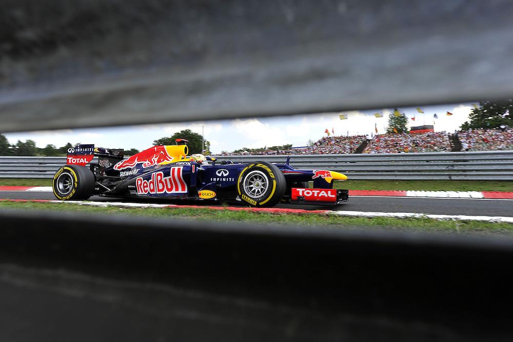 Sebastian Vettel (GER), Red Bull Racing ..2012 FIA Formula One World Championship - Hungarian Formula One Grand Prix, Hungaroring, Budapest, Hungary, Saturday 28th July 2012...