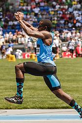 adidas Grand Prix Diamond League Track & Field: Men's Triple Jump, Omar Craddock, USA