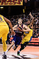 November 1, 2018 - Barcelona, Barcelona, Spain - Jaka Blazic, #9 of FC Barcelona Lassa in actions during EuroLeague match between FC Barcelona Lassa and Maccabi Fox Tel Aviv  on November 01, 2018 at Palau Blaugrana, in Barcelona, Spain. (Credit Image: © AFP7 via ZUMA Wire)