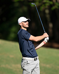 Former UConn quarterback Dan Orlovsky during the Chick-fil-A Peach Bowl Challenge at the Ritz Carlton Reynolds, Lake Oconee, on Tuesday, April 30, 2019, in Greensboro, GA. (Paul Abell via Abell Images for Chick-fil-A Peach Bowl Challenge)