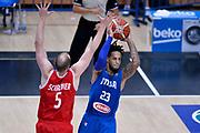 DESCRIZIONE : Trento Nazionale Italia Uomini Trentino Basket Cup Italia Austria Italy Austria<br /> GIOCATORE : Daniel Hackett<br /> CATEGORIA : passaggio<br /> SQUADRA : Italia Italy<br /> EVENTO : Trentino Basket Cup<br /> GARA : Italia Austria Italy Austria<br /> DATA : 31/07/2015<br /> SPORT : Pallacanestro<br /> AUTORE : Agenzia Ciamillo-Castoria/Max.Ceretti<br /> Galleria : FIP Nazionali 2015<br /> Fotonotizia : Trento Nazionale Italia Uomini Trentino Basket Cup Italia Austria Italy Austria