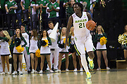 WACO, TX - JANUARY 5: Taurean Prince #21 of the Baylor Bears brings the ball up court against the Oklahoma State Cowboys on January 5, 2016 at the Ferrell Center in Waco, Texas.  (Photo by Cooper Neill/Getty Images) *** Local Caption *** Taurean Prince