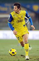 Fotball<br /> Italia<br /> Foto: Insidefoto/Digitalsport<br /> NORWAY ONLY<br /> <br /> Bostjan Cesar (Chievo)<br /> <br /> 19.12.2010<br /> Chievo v Juventus<br /> Campionato Italiano Serie A 2010/2011