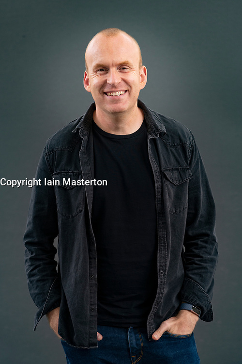 Edinburgh, Scotland, UK. 22 August 2019. Matt Haig at Edinburgh International Book Festival 2019. Matt Haig's book Notes on a Nervous Planet is a wise and witty guide to kicking the habits around everything from sleep to social media to work, that are making us less happy.Iain Masterton/Alamy Live News.
