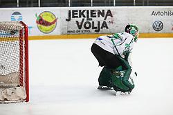 Paavo Holsa during derbi between  HDD SIJ Acroni Jesenice vs HK SZ Olimpija Ljubljana. October 12, 2021 in Ice Arena Podmezakla, Jesenice, Slovenia. Photo by Peter Podobnik / Sportida